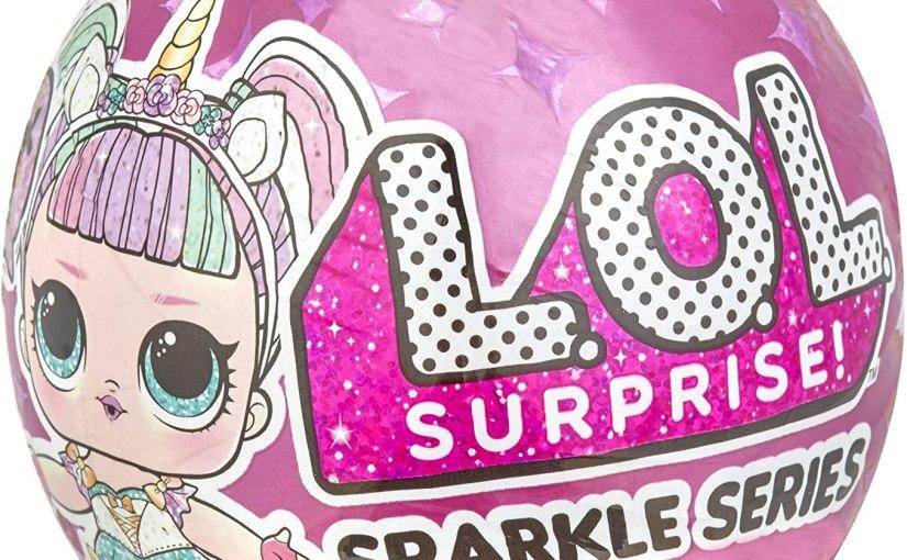 L.O.L. Surprise Dolls Sparkle Series A,Multicolor