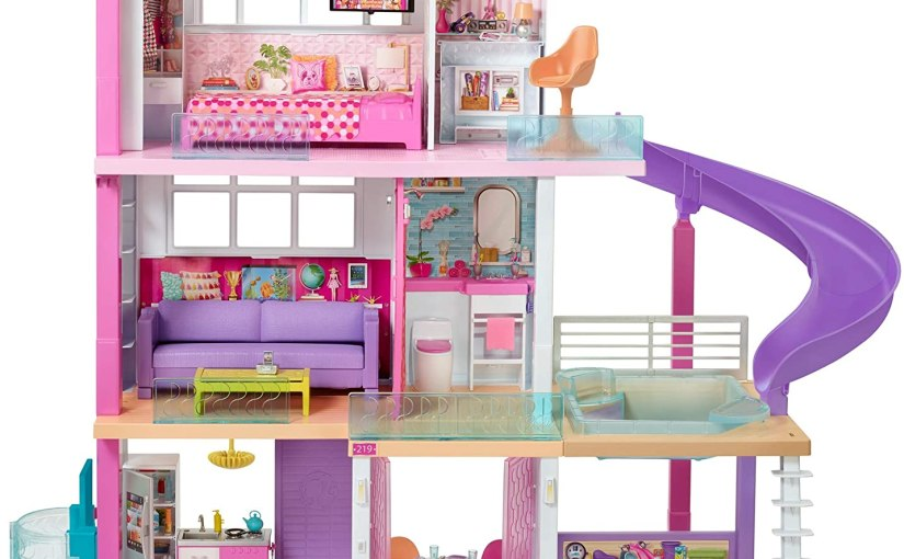 Barbie Dreamhouse Dollhouse with Pool, Slide andElevator